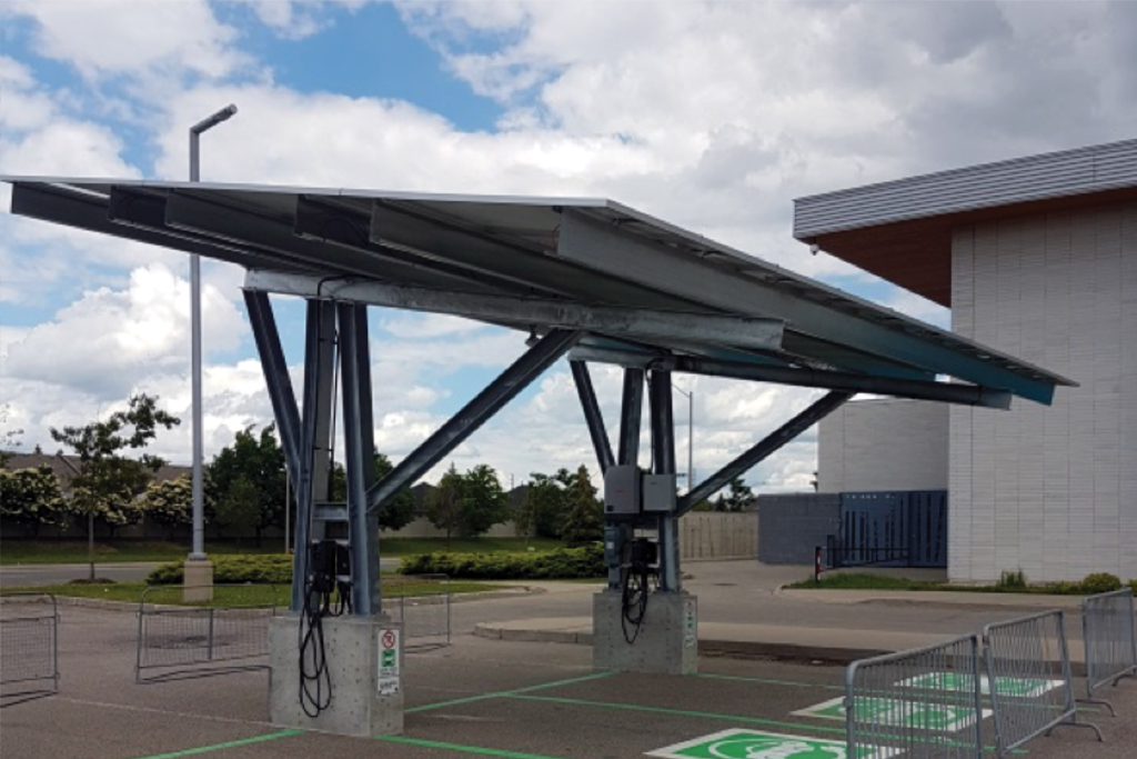 Solar PV Covered Parking Benefits