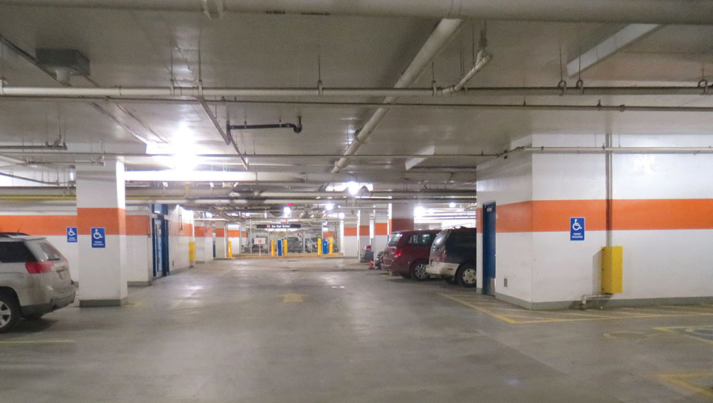 Parkade lighting upgrades provides savings and improved light quality