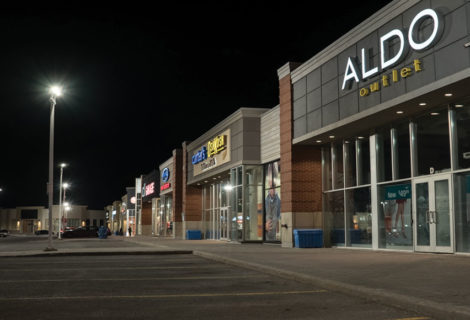 Energy reduction and incentives help retail complex save big on lighting retrofit project