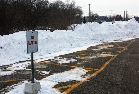 Parking Lot Design With Winter In Mind