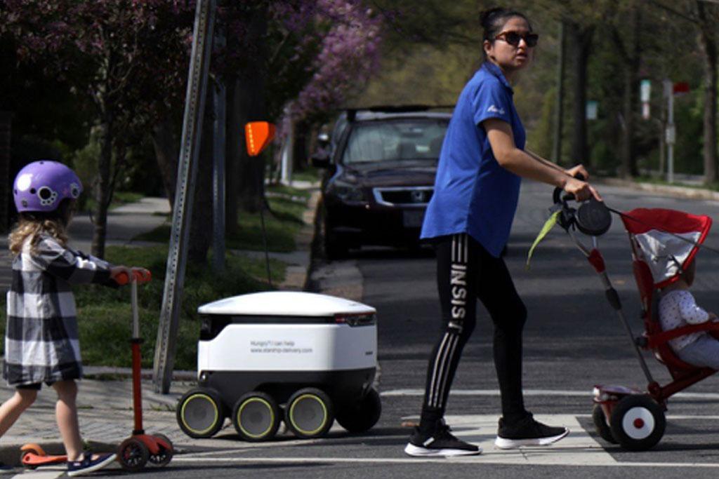 Parking, Sidewalk Robots, and Monetization